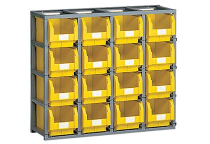 scaffali-modulari-square-con-contenitori-iMilani